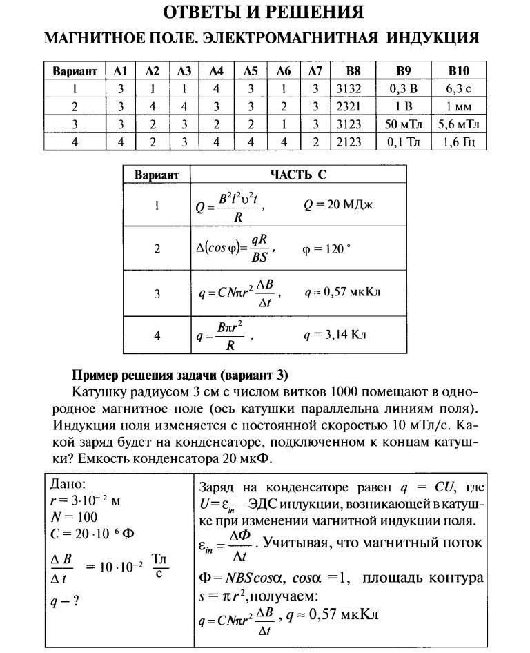 Типичные ошибки на контрольной работе по физике 8339